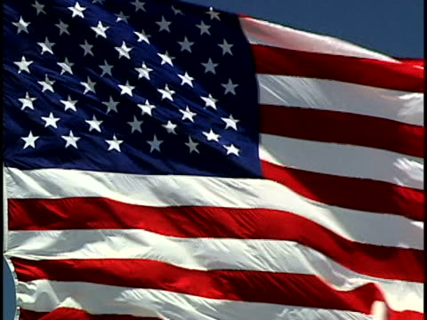 american flag - sheppard132 stock videos & royalty-free footage