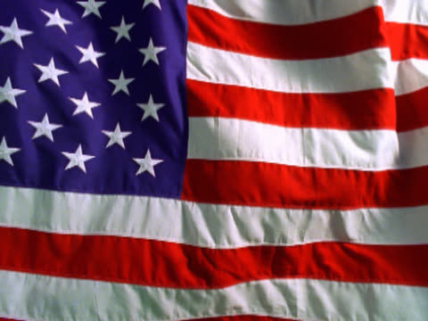 american flag waving - mpeg video format stock videos & royalty-free footage