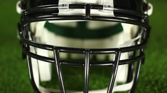 American Football Helmet front - HD & PAL