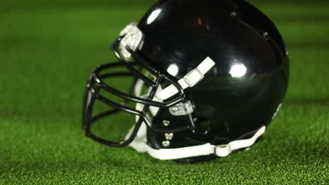 American football Helmet Side - HD & PAL