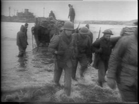 american forces travel through aleutian islands to prepare a surprise attack on the japanese located on kiska / map of kiska and amchitka islands /... - aleutian islands stock videos and b-roll footage