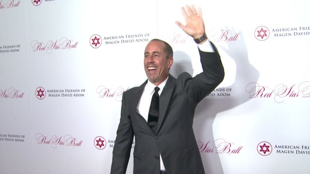 american friends of magen david adom's red star ball at the beverly hilton hotel on october 22, 2015 in beverly hills, california. - the beverly hilton hotel stock videos & royalty-free footage