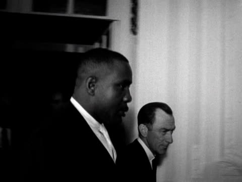 american heavyweight champion sonny liston at melody maker music awards in london - heavyweight stock videos and b-roll footage
