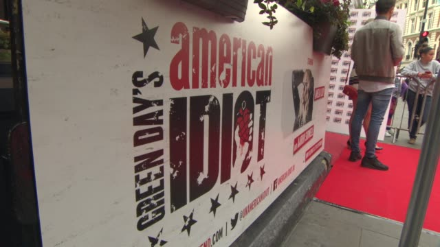 ATMOSPHERE American Idiot Press Night on July 22 2015 in London England