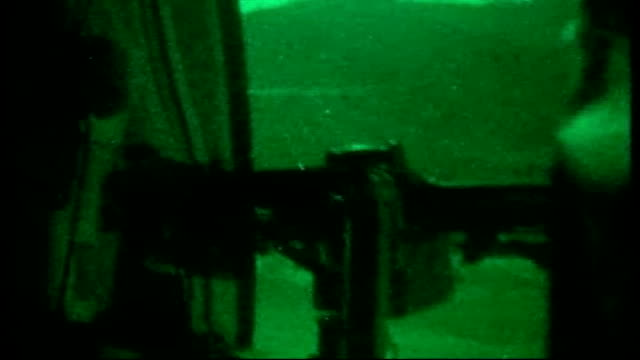 american military helicopter shot down killing 30 t17080901 nuristan fob keating sequence of green night vision shots us chinook military helicopter... - night vision stock-videos und b-roll-filmmaterial