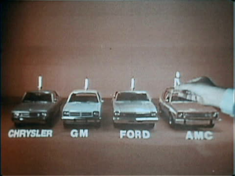 vídeos de stock, filmes e b-roll de american motors had a revolutionary warranty program that no other auto company had in the 1970s this tv promotes the extended version of their buyer... - ford motor company