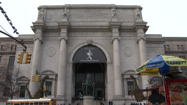 american museum of natural history - nyc (day exterior) - scott mcpartland stock videos & royalty-free footage