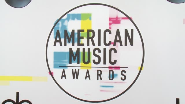 american music awards on november 19 2017 in los angeles california - american music awards video stock e b–roll