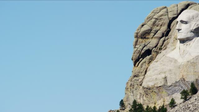 american national memorial mount rushmore south dakota usa - south dakota stock-videos und b-roll-filmmaterial