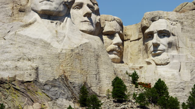 american national memorial mount rushmore south dakota usa - mt rushmore national monument stock videos and b-roll footage