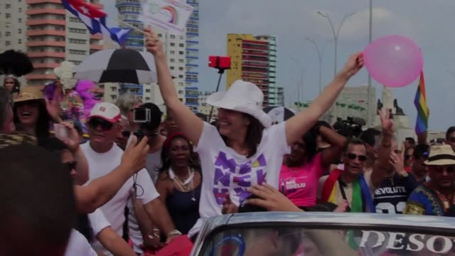american pastor troy perry an emblematic figure in the us lgbt community on saturday calls on gay cubans to come out of the closet as some 4000... - pastor stock videos & royalty-free footage