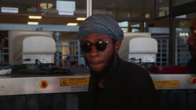 american rapper mos def appears briefly in a south african court on charges of presenting a world passport when trying to fly out of the country - mos def stock videos & royalty-free footage