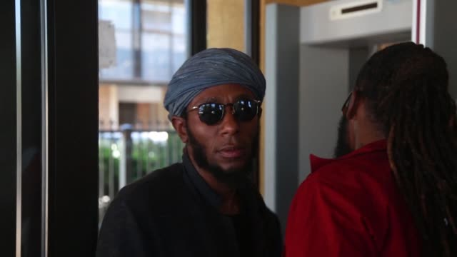 american rapper mos def is due back in court thursday on charges of presenting a world passport when trying to fly out of the country - mos def stock videos & royalty-free footage