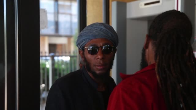 american rapper mos def is due back in court to decide his trial date on charges of presenting a world passport when trying to fly out of the country - mos def stock videos & royalty-free footage