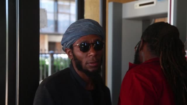 american rapper mos def will not face charges in south africa for using a so called world passport but will be banned from returning to the country... - mos def stock videos & royalty-free footage