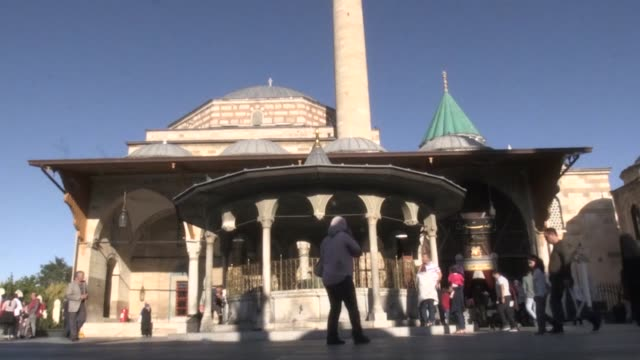 american singer, songwriter and long time vocalist of michael jackson and whitney houston, della miles visits mevlana museum in konya, turkey on... - songwriter stock videos & royalty-free footage