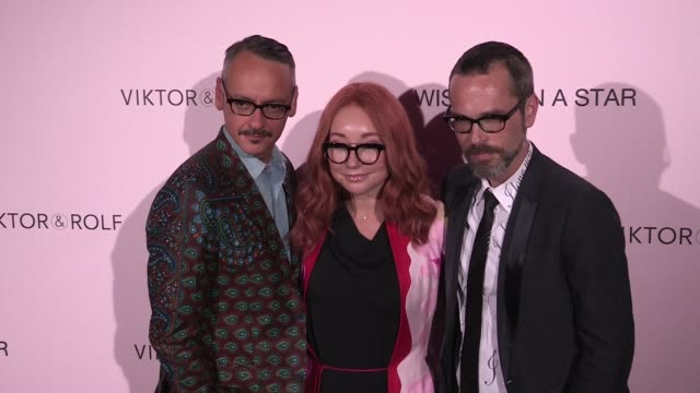 American singer Tori Amos at Viktor Rolf After Party Photocall at the Trianon in Paris Paris France on Wednesday July 8 2015