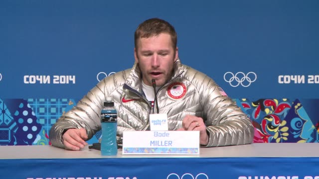 american ski star bode miller became the oldest olympic medalist in alpine skiing at 36 years and 127 days when he took bronze in the super-g on... - alpine skiing stock videos & royalty-free footage