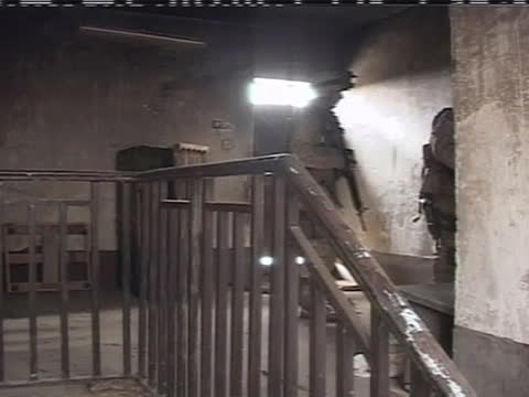 american soldiers search a building for insurgents in iraq. - (war or terrorism or election or government or illness or news event or speech or politics or politician or conflict or military or extreme weather or business or economy) and not usa stock videos & royalty-free footage
