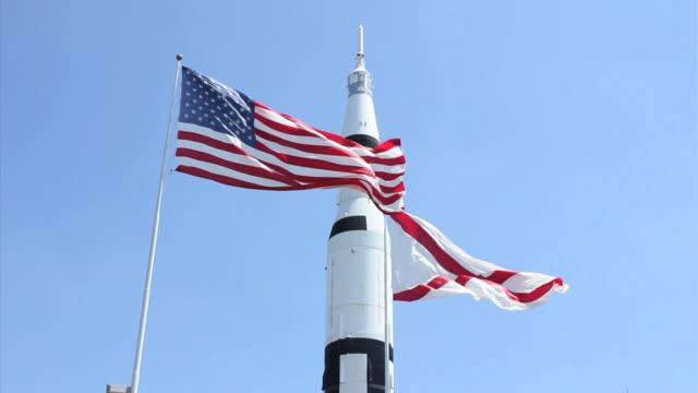 viaggio spaziale americano - alabama video stock e b–roll