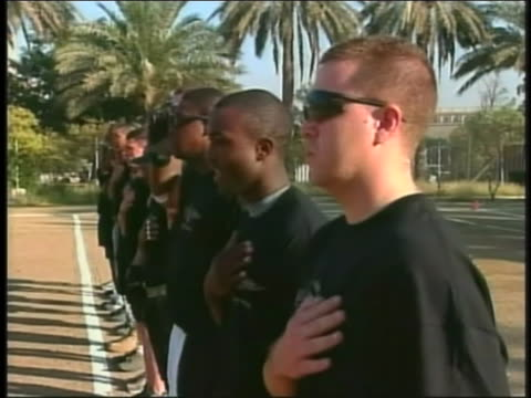 american troops stationed overseas salute and give thanks on thanksgiving day. - thanksgiving politics stock videos & royalty-free footage