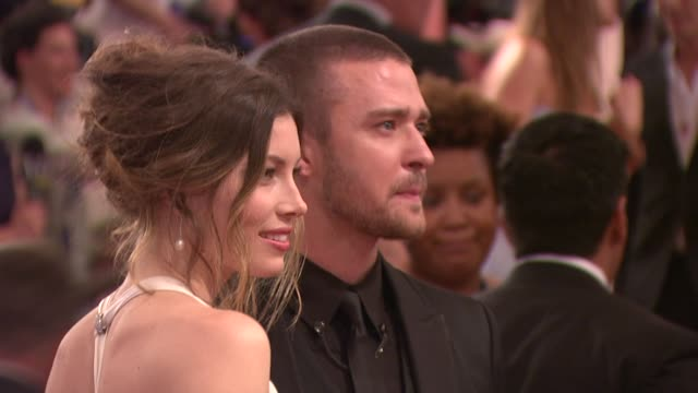 'american woman fashioning a national identity' met gala arrivals new york ny united states - justin timberlake stock-videos und b-roll-filmmaterial