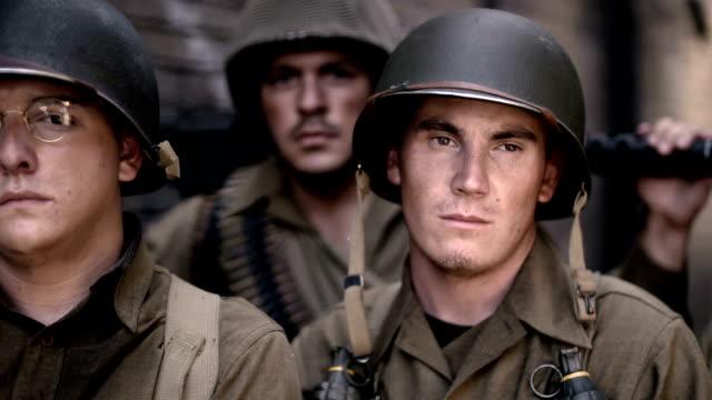 vídeos y material grabado en eventos de stock de soldados americanos 2 guerra de mundo - segunda guerra mundial