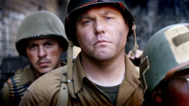american world war 2 soldater - infanteri bildbanksvideor och videomaterial från bakom kulisserna