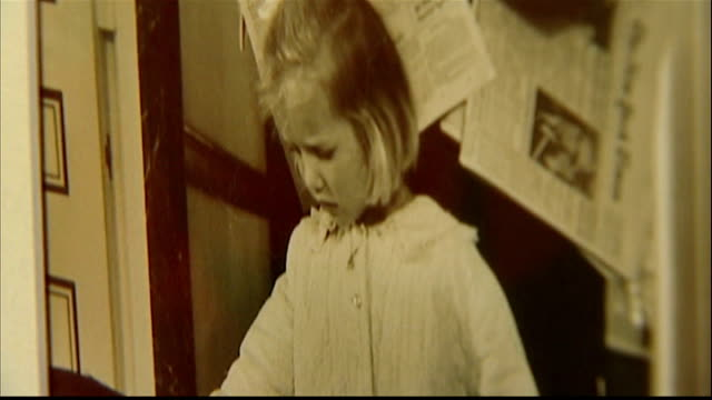 americans mark 50th anniversary of john f kennedy assassination int kerry kennedy interview as looking at photos and letter on wall sot father wrote... - attentat auf john f. kennedy stock-videos und b-roll-filmmaterial