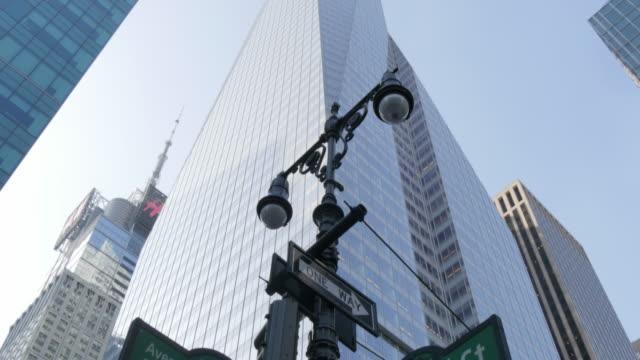 Americas & 42 Street Signs, Manhattan, New York City, New York, USA, North America