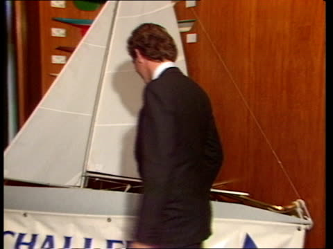 ENGLAND London Royal Thames Yacht Club PKF BV Official examining model of yacht CMS HAROLD CUDMORE INT 'If I thought to do it'