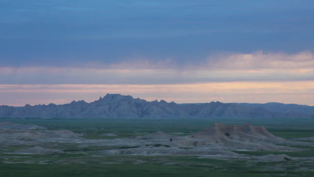 america's heartland - badlands national park video stock e b–roll
