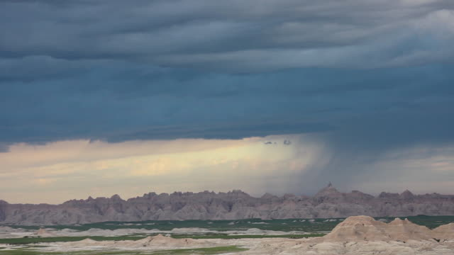 america's heartland - badlands national park stock videos & royalty-free footage