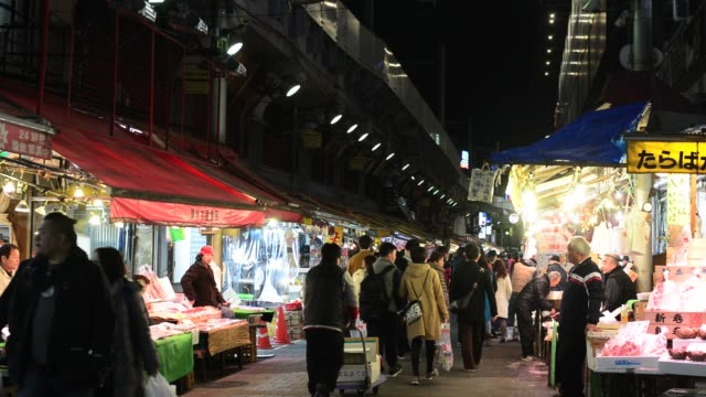 ameyoko at night - awning stock videos and b-roll footage