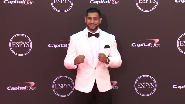Amir Khan at the The 2018 ESPYS at Microsoft Theater on July 18 2018 in Los Angeles California
