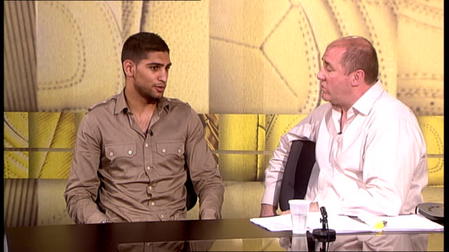 Amir Khan interview Khan interview SOT Wants to win title of Kotelnik defend it a couple of times and then drop back down to Lightweight and then...