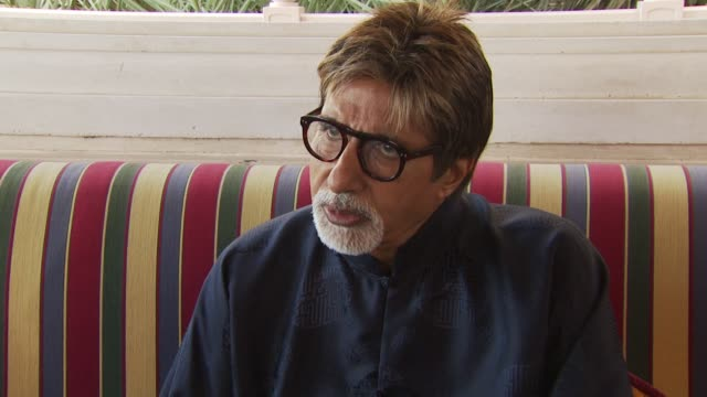 amitabh bachchan on being inspired by cinema from other cultures and its effect on the creative process at the dubai film festival 2009 amitabh... - interview stock videos & royalty-free footage