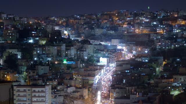 Amman City Centre by Night