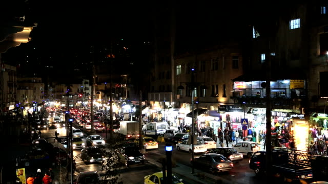 Amman night city view Downtown, Jordan, Middle East