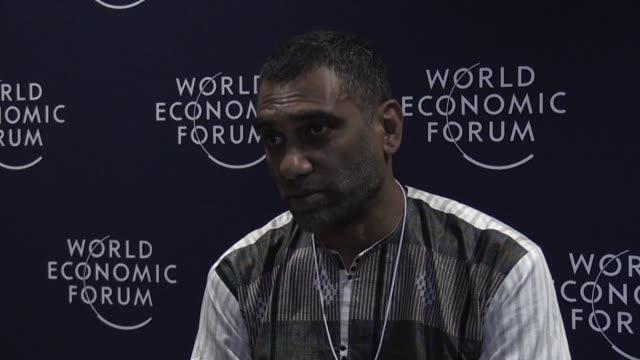 amnesty international chief kumi naidoo amnesty international slams the world economic for not devoting any discussion to the murder of saudi... - amnesty international stock videos & royalty-free footage
