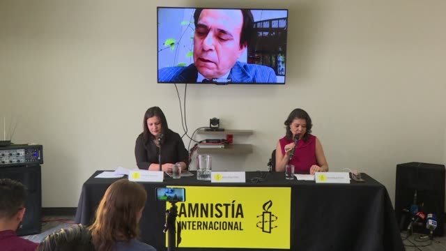 amnesty international reports that venezuelan president nicolas maduro has used the state institutions [] to systematically silence the opposition... - amnesty international stock videos & royalty-free footage