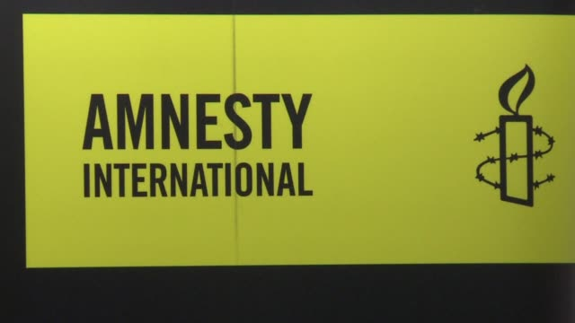 amnesty international said progress was made towards abolition of death penalty but also expressed concern about the resumption of executions in some... - amnesty international stock videos & royalty-free footage