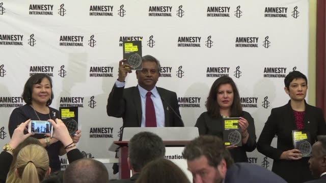 Amnistia Internacional denuncio que las políticas demonizadoras como las de Donald Trump abonaron el terreno para los abusos de derechos humanos en...