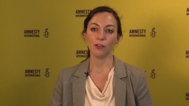 amnistia internacional informo el miercoles sobre al menos 1634 casos de ejecuciones de pena de muerte en todo el mundo la cifra mas alta en 25 anos - esecuzione pubblica video stock e b–roll