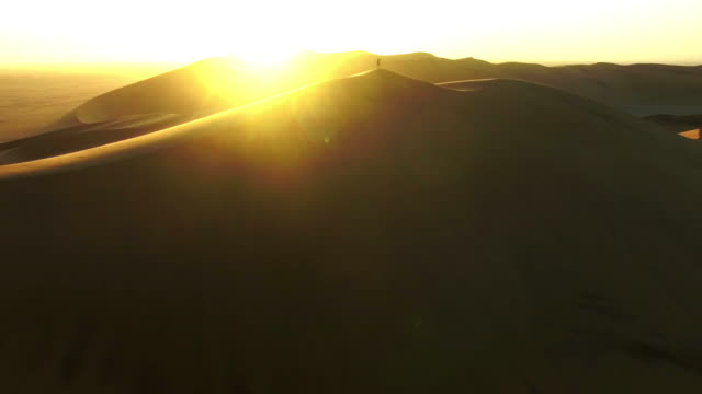 among the namibian dunes - namibian desert stock videos and b-roll footage