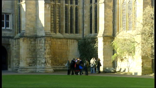 amount of state school entrants in top universities falls oxford university students standing chatting in grounds of university - oxford university stock videos & royalty-free footage