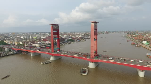 Ampera Bridge.