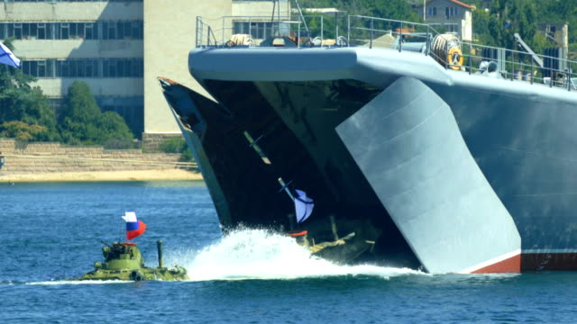 amphibious assault landing of armored personnel carriers from a warship - russian culture stock videos & royalty-free footage
