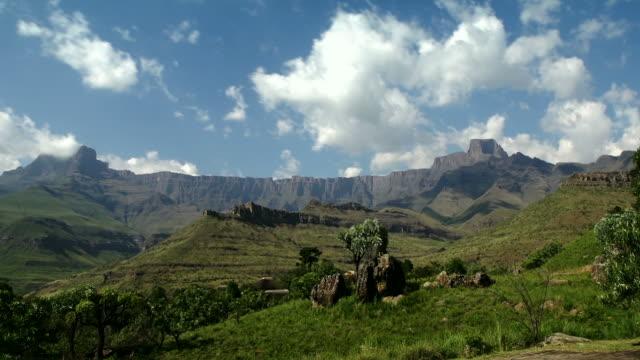 Amphitheater at Drakensberg mountains