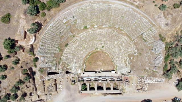 amfiteatern i nysa, turkiet - grekisk kultur bildbanksvideor och videomaterial från bakom kulisserna